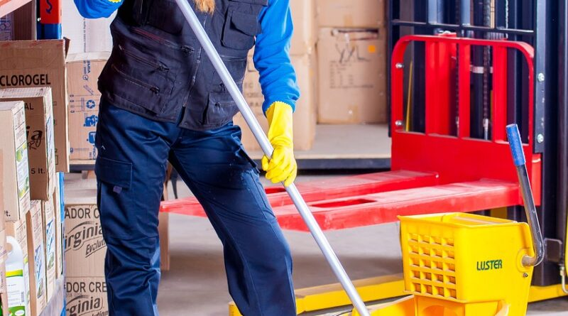 Nettoyage industriel de bâtiment